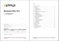 Axtesys Business Plan Template